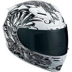 This is on the list for a potential race helmet, the Bell Star. Here is the limited edition Cerwinske graphic - not too shabby!