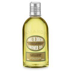 Dusjoljen forvandles til et deilig skum i kontakt med vann. Beriket med mandelolje renser den skånsomt og virker fuktighetsgivende og nærende. Huden