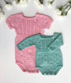 Ravelry: Millefleur Onesie pattern by Anne Dresow Crochet Gifts, Diy Crochet, Crochet Ideas, Knitting For Kids, Baby Knitting, Onesie Pattern, Body Tutorial, Easy Crochet Projects, Romper Pants