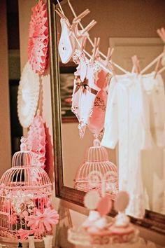 Preparando la llegada del bebé: Baby Showers Girls estilo Vintage