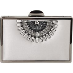 Inge Christopher Stella Art Deco Clutch (4,755 MXN) ❤ liked on Polyvore featuring bags, handbags, clutches, purses, bolsas, art deco purse, purse, art deco handbag, accessories handbags and chain purse