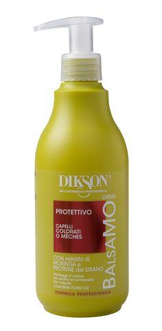 Balsamo Protettivo per capelli colorati e trattati con Estratto di Moringa e Proteine del Grano