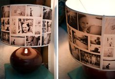 DIY Photo Lamp!