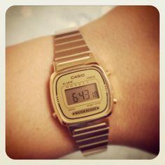 Casio watch #vintage #classic # retro