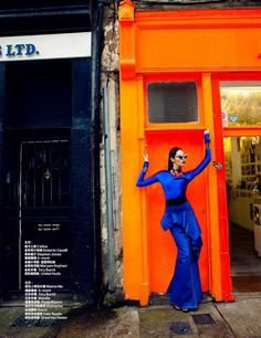 Harper's Bazaar China 'Fabulous London' Stars a Luxe Bonnie C