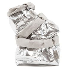 Washable Paper Bags - Metallic Silver - (Mini) - $16.00 NZD (Small) $36.00 NZD (Medium) - $48.00 NZD (Large) $60.00 NZD (Extra Large) $125.00 - New Zealand