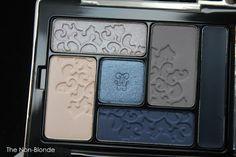 Guerlain Beaugrenelle Fall 2015 Écrin 6 Couleurs Eyeshadow Palette | The Non-Blonde Surprising color combination- blue & taupe