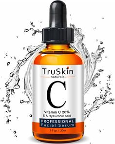 The BEST ORGANIC Vitamin C Serum for Face with Hyaluronic Acid, 20% C + E Professional Topical Facial Skin Care Helps Repair Sun…