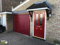 At Garolla, our double garage roller door price and the cost of a single garage roller door includes VAT & more! To find out more about our Roller Shutter Garage Door prices, click the link below. Red Garage Door, Single Garage Door, Garage Walls, Roller Doors, Roller Shutters, Small Garage, Double Garage, Red Interior Design, Garage Doors Prices