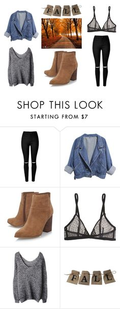 Fall look 🍂 by yseultdel on Polyvore featuring mode, Yasmine eslami and Nine West