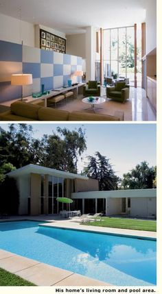 Encore Performance: The Gary Cooper House.  Designed with star power by architect A. Quincy Jones.    Designed with star power by architect A. Quincy Jones
