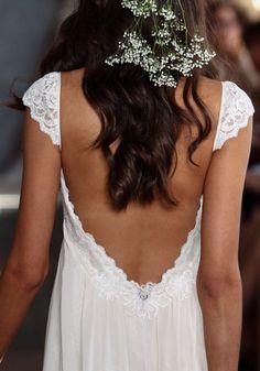 Claire Pettibone #Romantique 'Phaedra' wedding dress | Bohemian Rhapsody Collection