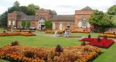 The Orangery Tea Rooms at Markeaton Park.