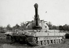 British FV214 Conqueror heavy tank