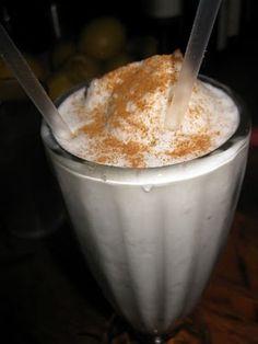 cocada (coconut milkshake) at caracas (nyc)