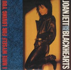 """For Sale - Joan Jett I Hate Myself... UK CD single (CD5 / 5"""") - See this and 250,000 other rare & vintage vinyl records, singles, LPs & CDs at http://eil.com"""