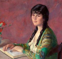 young-woman-readingIvan Olinsky (1878 – 1962)