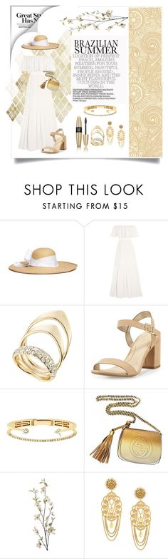 """Untitled #68"" by evelyngi ❤ liked on Polyvore featuring Sensi Studio, Victoria's Secret, Temperley London, Alexis Bittar, Circus by Sam Edelman, Delfina Delettrez, Gucci, Pier 1 Imports and Dolce&Gabbana"