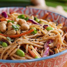 Sesame Peanut Noodles Recipe by Tasty