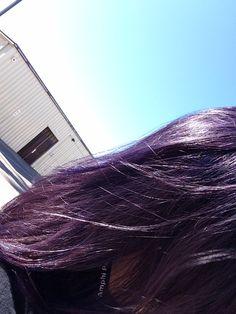 Purple Desire By Splat On Unbleached Dark Hair