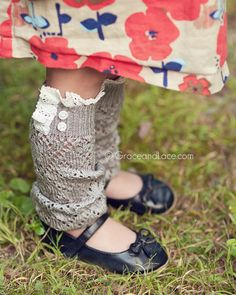 Grace and Lace - Lil Lacey Leg Warmers, $17.50 (http://www.graceandlace.com/all/lil-lacey-leg-warmers/)