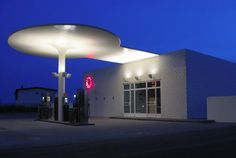 Jacobsen, Arne: Texaco Station, Skovshoved, Denmark: Architecture, Sculpture | The Red List