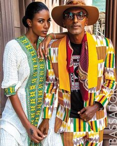 Maya Haile and Marcus Samuelsson for Ambassador Magazine #blacklove Love Jones, Black Love, Maya, Cover Up, Magazine, Beautiful, Dresses, Style, Fashion