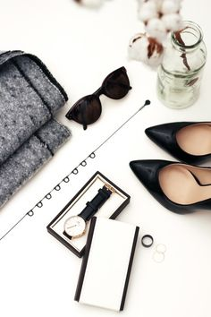 via Lucea Row    Vignette, shades, heels, watch