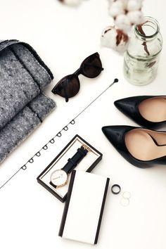 via Lucea Row  Vignette, shades, heels, watch
