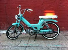 Same moped as mine, but with not dented front end.