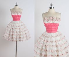 Fairy Cake . vintage 1950s dress . vintage by millstreetvintage