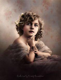 Colored Vintage Photo CINDY GRUNDSTEN