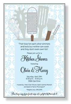 Kitchen Tea Invite
