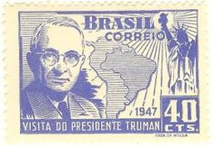 Visita do Presidente Truman