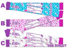 ON SALE Doc Mcstuffins Inspired Generic  Doctor Hospital ID Bands, Doc Supplies, Doc Favors, Doc Birthday Printables- You Print on Etsy, $6.99