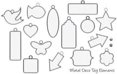 Metal Deco Tag Elements    http://blogs.creativememories.com/software_solutions/2012/04/thank-you-for-being-our-fans.html
