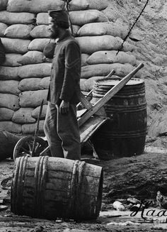 civil war wheelbarrow