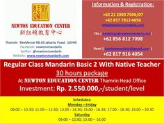 newtonmandarin.com: Latest News: Opening New Regular Class Basic 2 Wit...