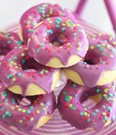 Sprinkle Bakes: Baked Buttermilk Doughnuts