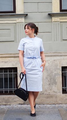 COS Shirt dress Outfit Classy