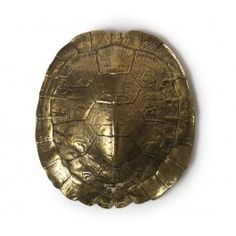 #ModernThanksgiving. Because Nate Berkus would be one of my dinner guest. SOLID BRASS TURTLE SHELL OBJET ,$85.00