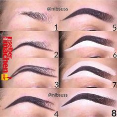 Make Up; Make Up Looks; Make Up Augen; Make Up Prom;Make Up Face; Makeup Steps Source by Eyebrow Makeup Tips, Make Makeup, Beauty Makeup Tips, Contour Makeup, Skin Makeup, Eyeshadow Makeup, Makeup Hacks, Eyebrow Pencil, Lip Contouring