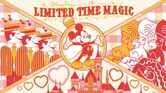 With Limited Time Magic, enjoy special experiences and offerings while on vacation at Walt Disney World Resort or Disneyland Resort. Disney And More, Disney Love, Disney Mickey, Disney Art, Walt Disney, Disney Stuff, Mickey Mouse, Disney Theme, Disney Parks Blog