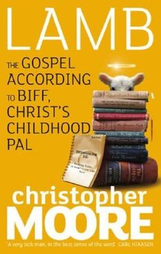 "Christopher Moore ""Lamb: The Gospel According to Biff, Christ's Childhood Pal"". Our book club found it quite amusing, entertaining, relaxed, enjoyed it. We got into the spirit of it, laughed hysterically. We liked the book, it was funny, well written, interesting, timeless."