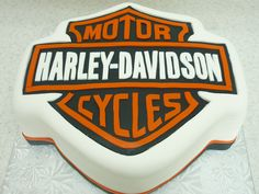 Harley Davidson cake - for your Dad's (and Michelle's) 'going away' party!  (I know....he sold it)