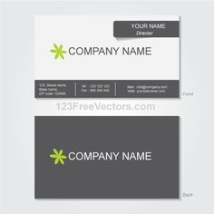 Vector business card design template pinterest business card business card template vector flashek Gallery