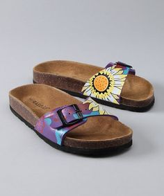 a cross between Dr. Scholls and Earth Shoes