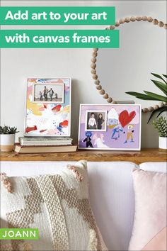Shop canvas frames to customize your artwork with a mat that's as personal as your photos. Canvas Frame, Canvas Art, Diy Craft Projects, Diy Crafts, How To Make Canvas, Water Paper, Creative Skills, Joanns Fabric And Crafts, Framed Art