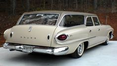 1961 Dodge Dart Seneca station wagon Maintenance of old vehicles: the material for new cogs/casters/gears could be cast polyamide which I (Cast polyamide) can produce