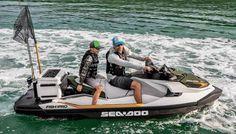 Jet Ski Fishing, Fishing Boats, Seadoo Jetski, Jet Skies, Fish Finder, Outboard Motors, Going Fishing, Boater, Water Crafts